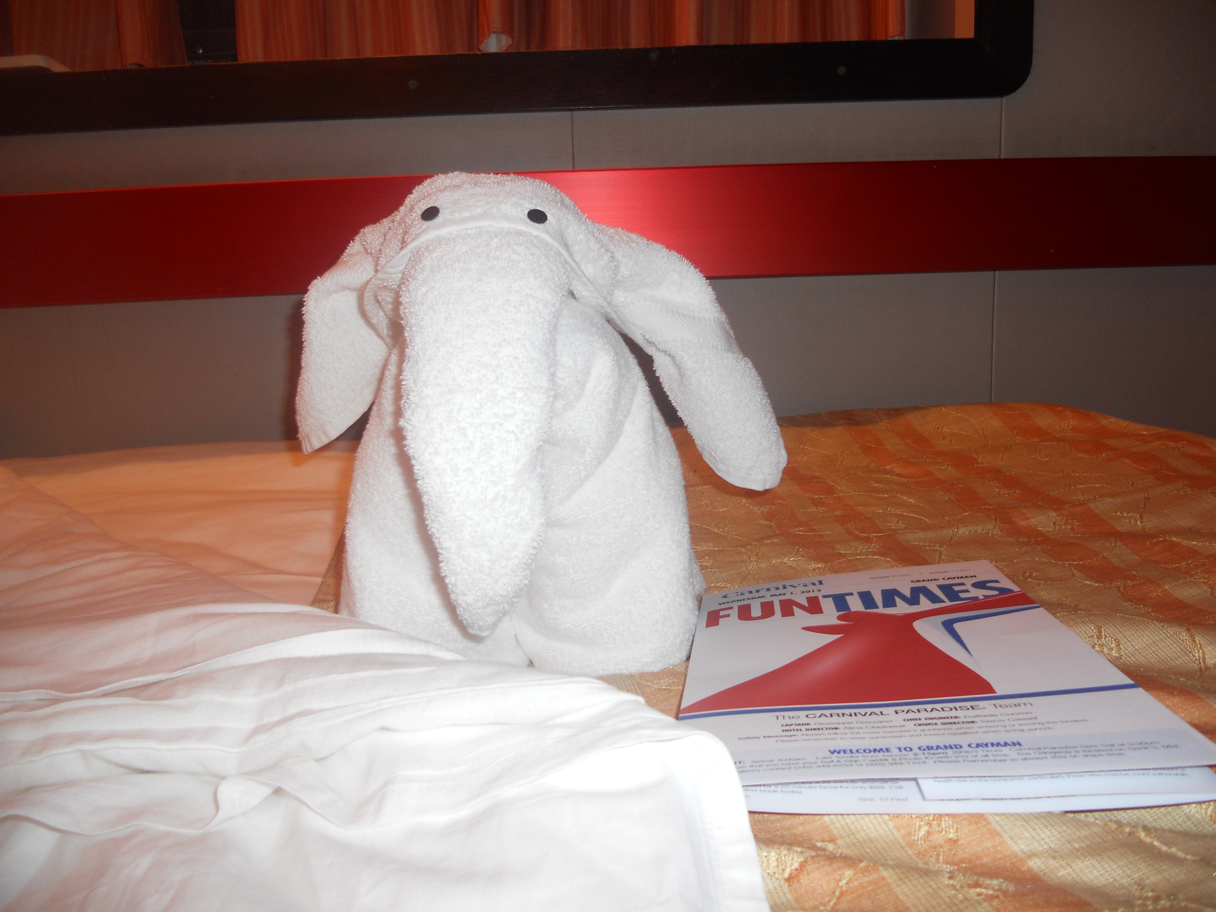 Towel Animal - Elephant