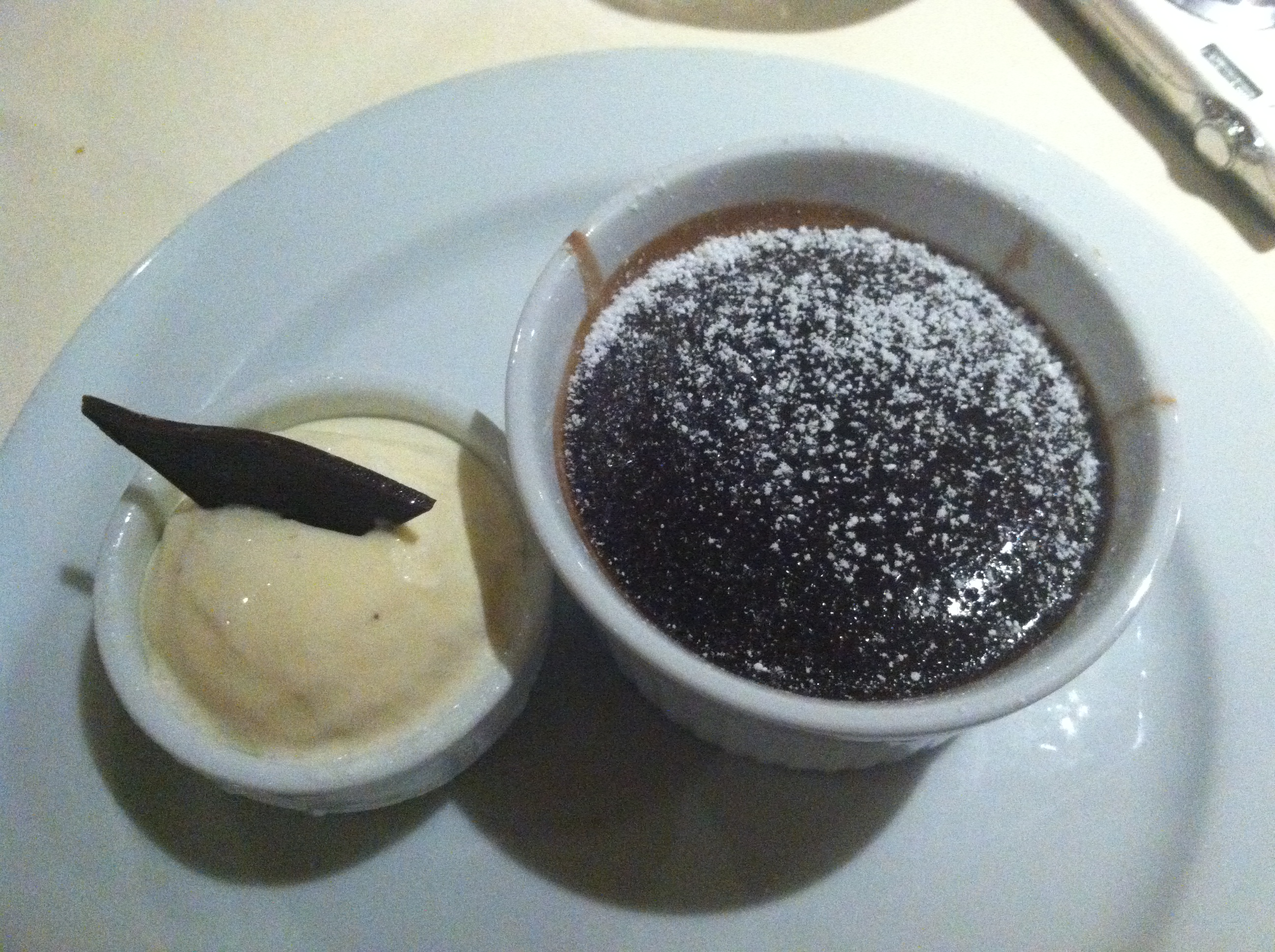 warm choc melting cake