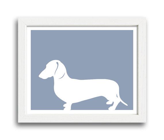 dachshund print_miller