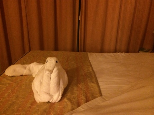 towel animal monday