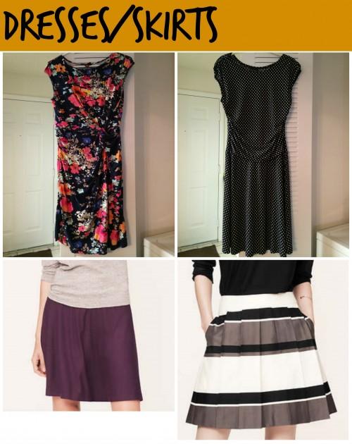dresses skirts