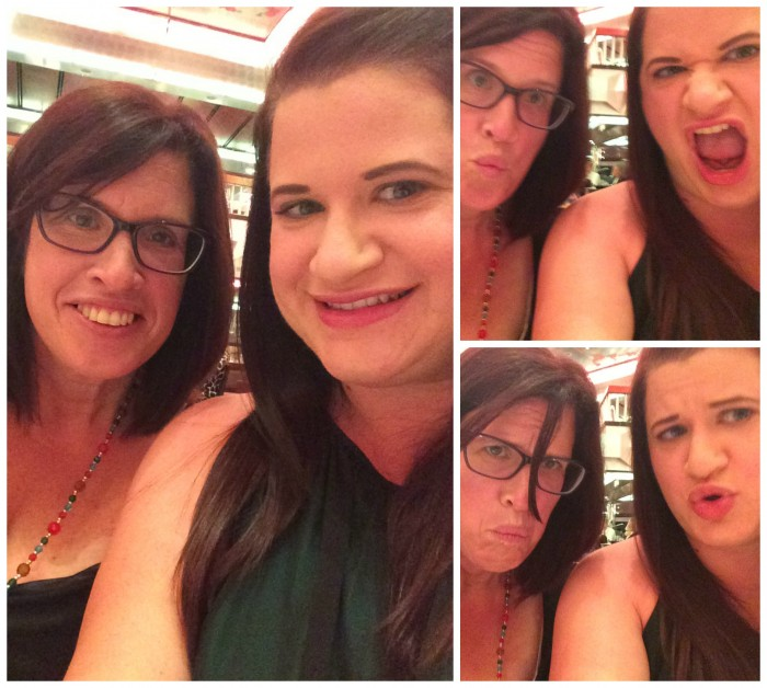 Dinner Selfies Collage