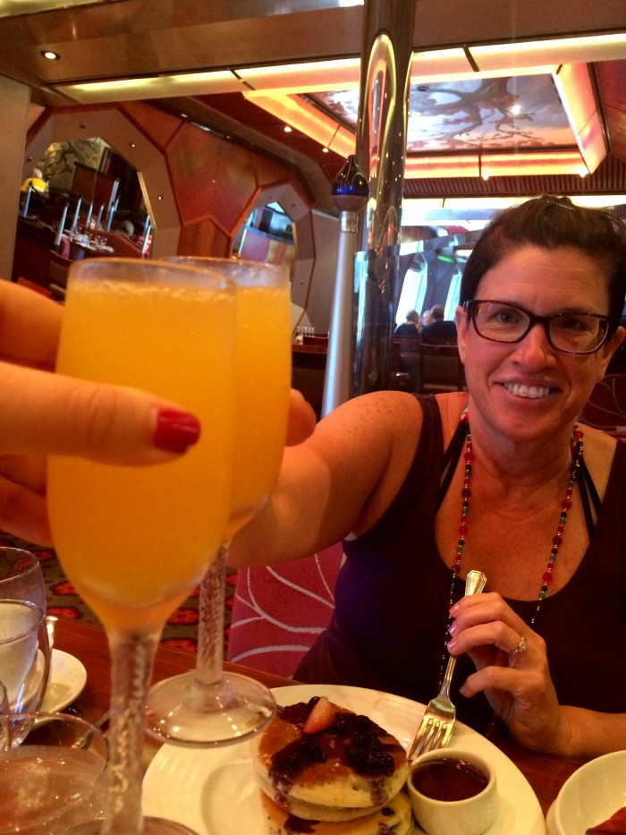 Mimosas at brunch