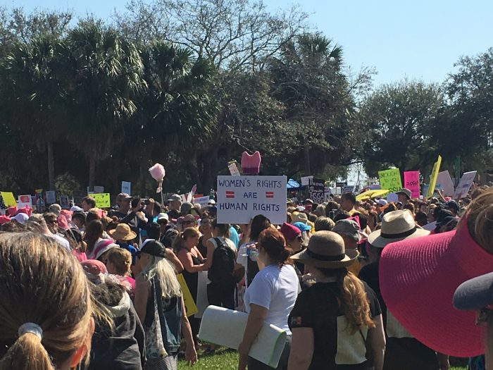 women's march st pete
