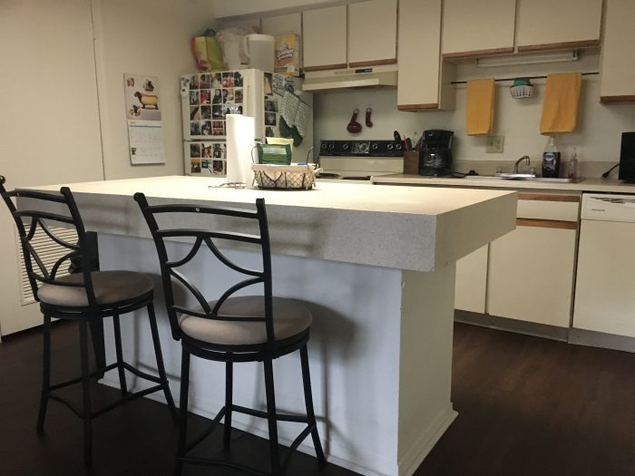 The Refrigerator And Dishwasher Are Both Brand New, So The Oven Sticks Out  In My Kitchen With Its Off White Color And Coil Cooktop. Iu0027ve Lived In  Fancy ...